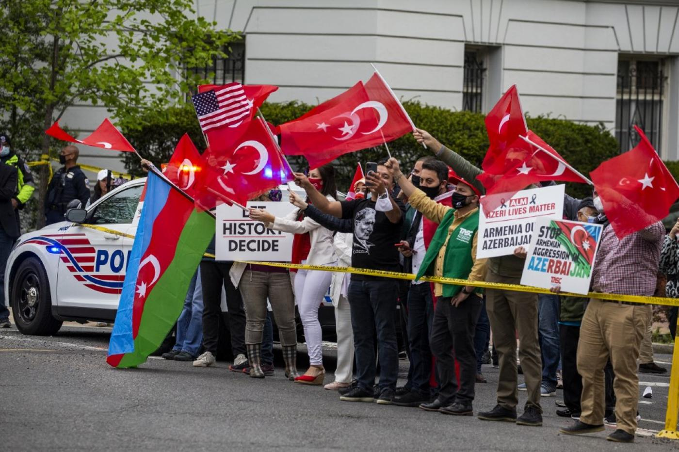 Turkey says it will respond in time to 'outrageous' US genocide statement