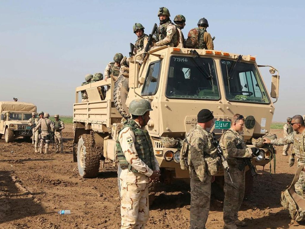 Rocket attack, 3rd in 3 days, targets US in Iraq: army