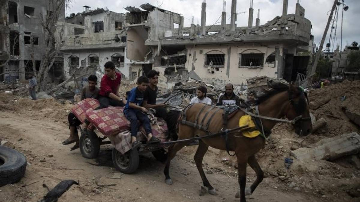 Gazans survey damage as Israel-Palestinian ceasefire holds