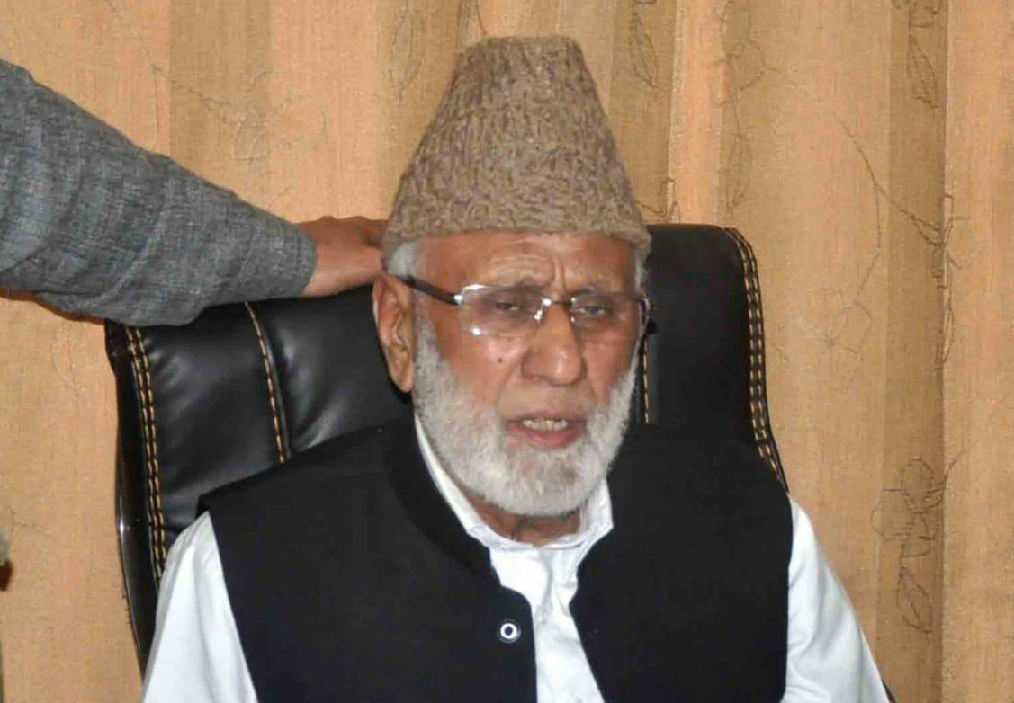 Jailed Hurriyat leader Ashraf Sehrai dies at Jammu hospital