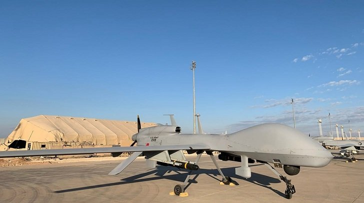 US forces shoot down armed drone over Iraq embassy