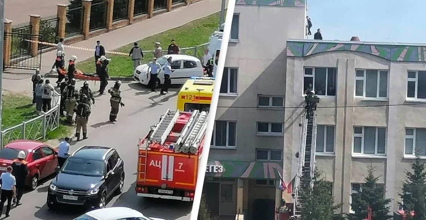 Nine killed in school shooting in Russia, 10 in hospital