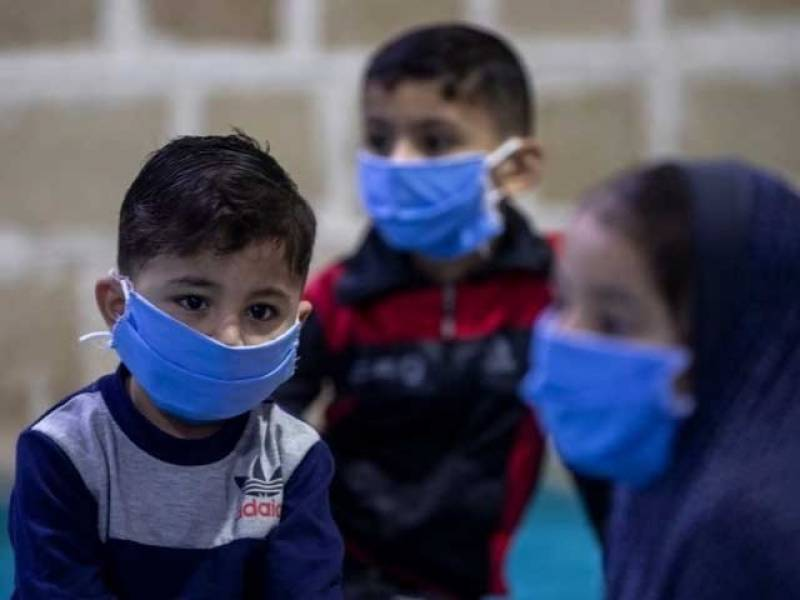 Over 15,000 Pakistani children test positive in April
