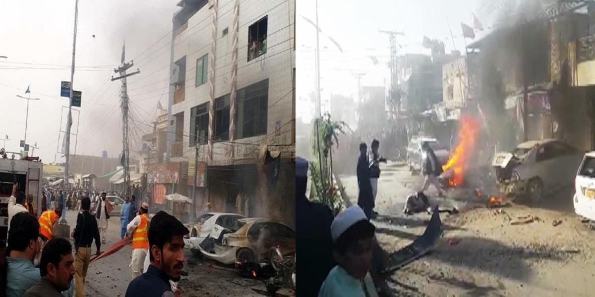 Scores injured in Chaman blast