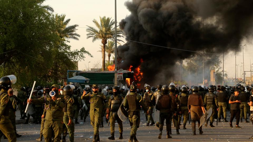 Two killed as clashes erupt at Iraq rallies over unpunished killings