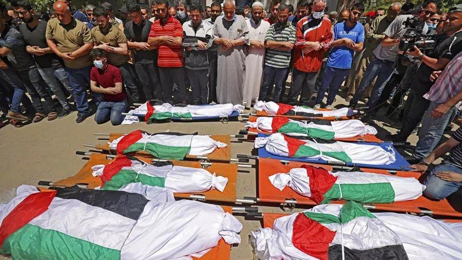 Ten of a Gaza family killed in Israeli strike: medics