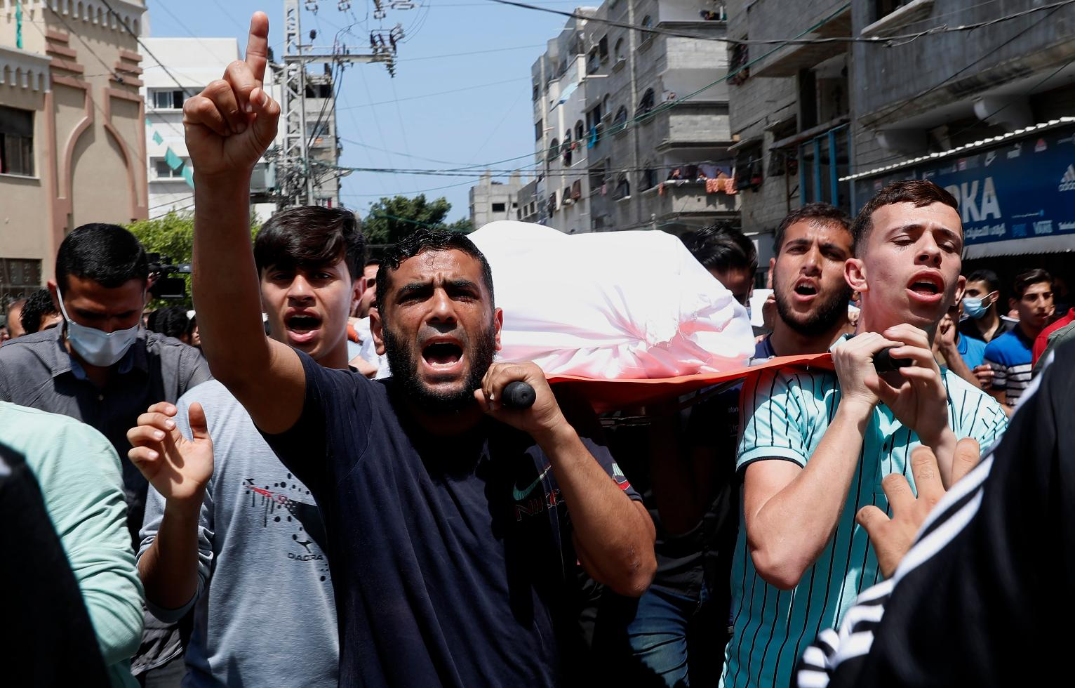 Death toll from Israeli attacks on Gaza rises to 123