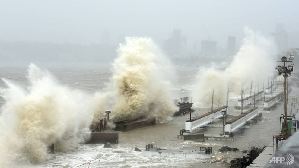 127 missing after India cyclone sinks barge: defence ministry