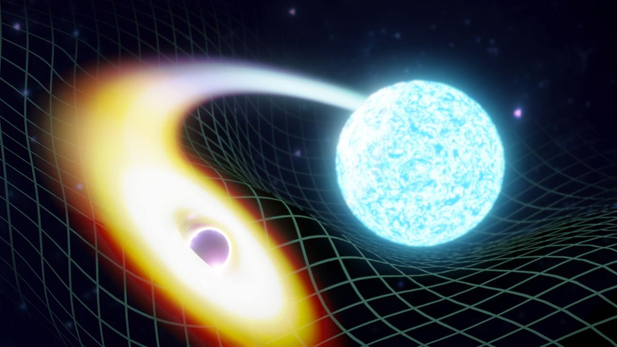 Astronomers find Black holes swallow neutron stars