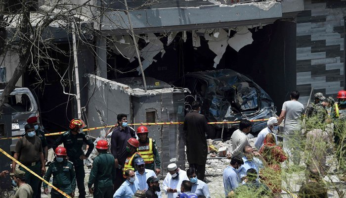Intelligence agencies arrest woman in connection with Lahore blast