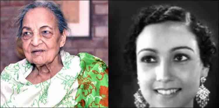 Legendary actress Begum Khursheed Shahid passes away