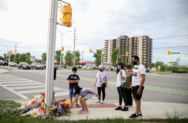 Man suspected of killing Canadian Muslim family with truck motivated by hate: police