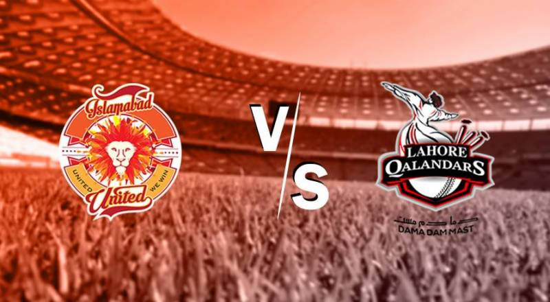 PSL 6: Lahore Qalandars to face Islamabad United in Abu Dhabi today