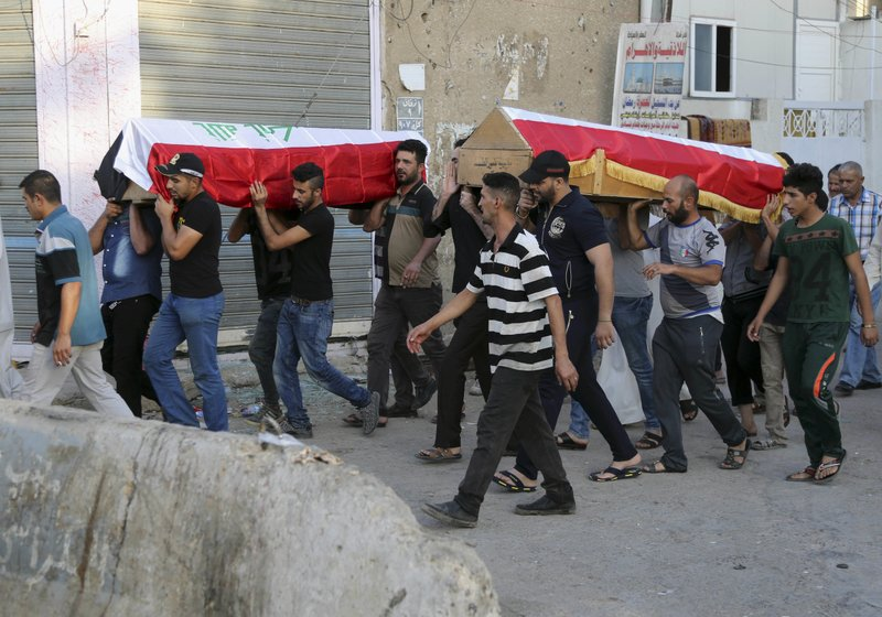 At least 15 killed in terrorist attack on a funeral procession in northern Iraq