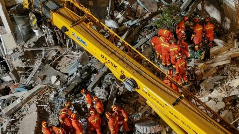 Death toll in China hotel collapse rises to eight