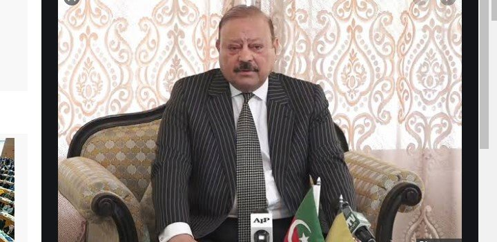 Barrister Sultan takes oath as AJK President
